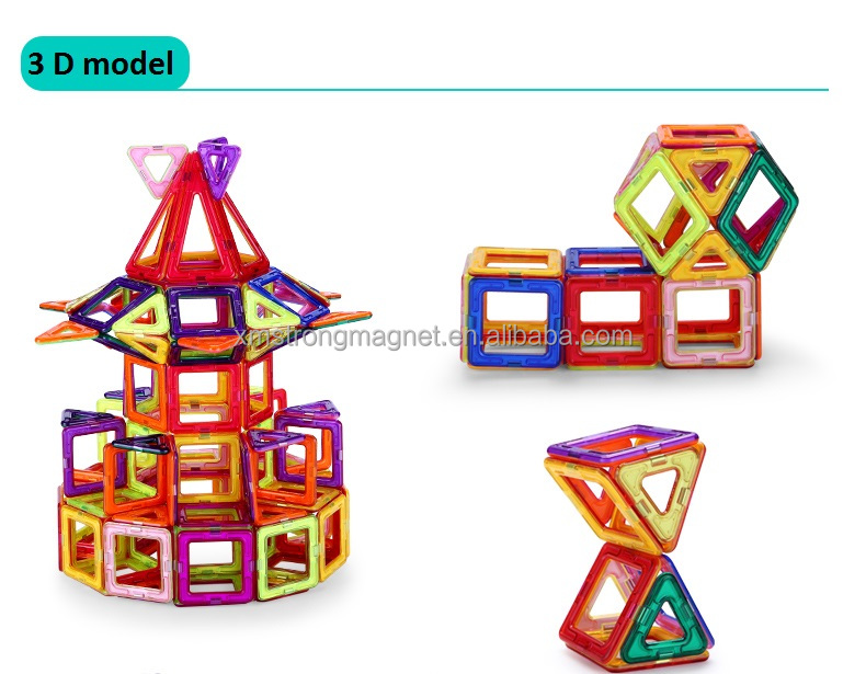 hot sell 198 pcs magformers construction toy for children , magnetic building block toy