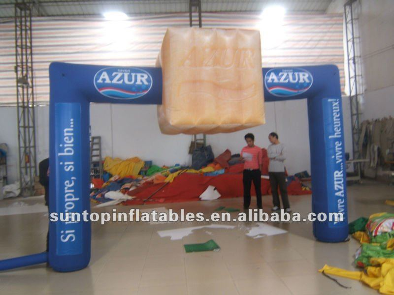 hot sales inflatable event arch with high quality and good price