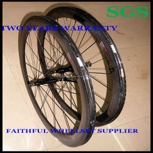 Factory Manufacturer OEM ODM 58mm MTB Road Bike Bicycle Clincher Full Carbon Fiber Wheelset Wheel Rim