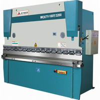 WC67Y aluminium sheet corrugated roof panel bending machine /press brake