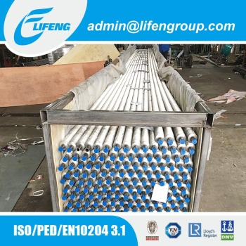 heat transfer warpping G type embedded fin tube