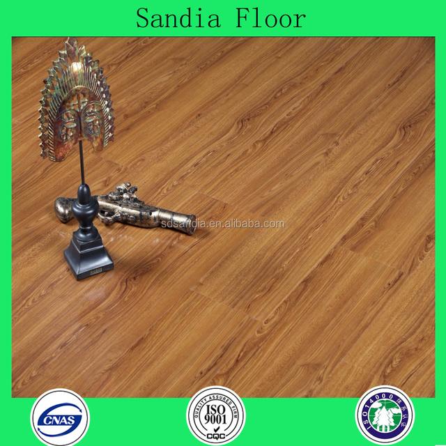 Cheaper AC4 mdf Laminate Flooring / Cheap Oak Wood Parquet Laminate Flooring Prices From China