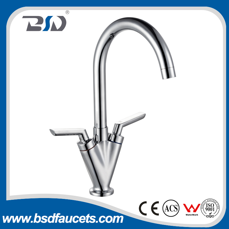 High quality Gooseneck Mono Sink Mixer with Swivel Spout