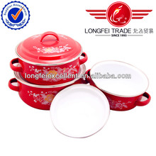 2014 hot stinless steel&ceramic kitchen cookware wholesale