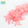 Wholesale Epoxy Flatback Nail Resin Stone 3D Decoration Nail Art Charm In Bulk Selling, D-A019-Jelly Lt.Rose AB