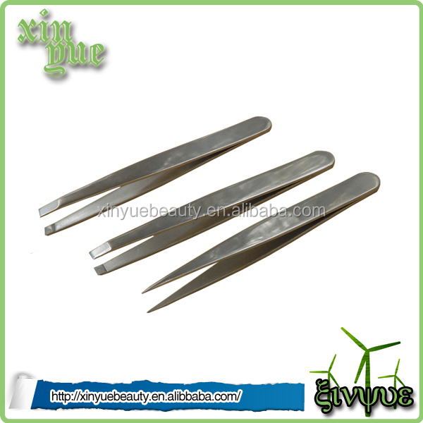 high quality rubber tweezers slanted tweezers automatic tweezers