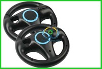 Racing Game Steering Wheel Remote Controller for Nintendo Wii