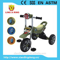 cheap baby tricycle with musical and flashing head 2016 new model