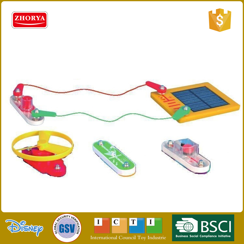 Zhorya high quality kids solar energy educational toys