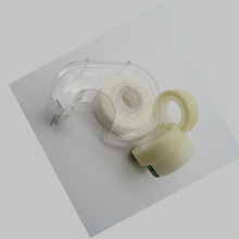 Diffused White Color BOPP Scotches Tape Use For Student