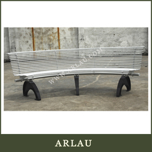 Stainless Steel Seating Bench,Outdoor Benches For Parks, Stainless Steel Bench With Backrest