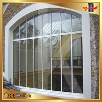 Low price manufacture aluminum channel window