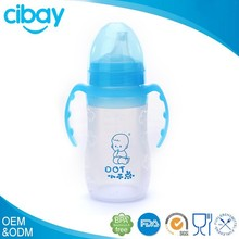 100% Medical grade silicone free baby bottle samples 2014