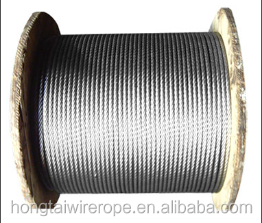 PVC plastic coated galvanized steel strand wire rope cable