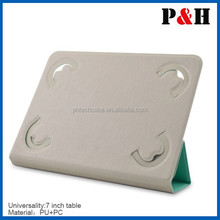 Fashionable Flip leather case for 7 inch tablet pc