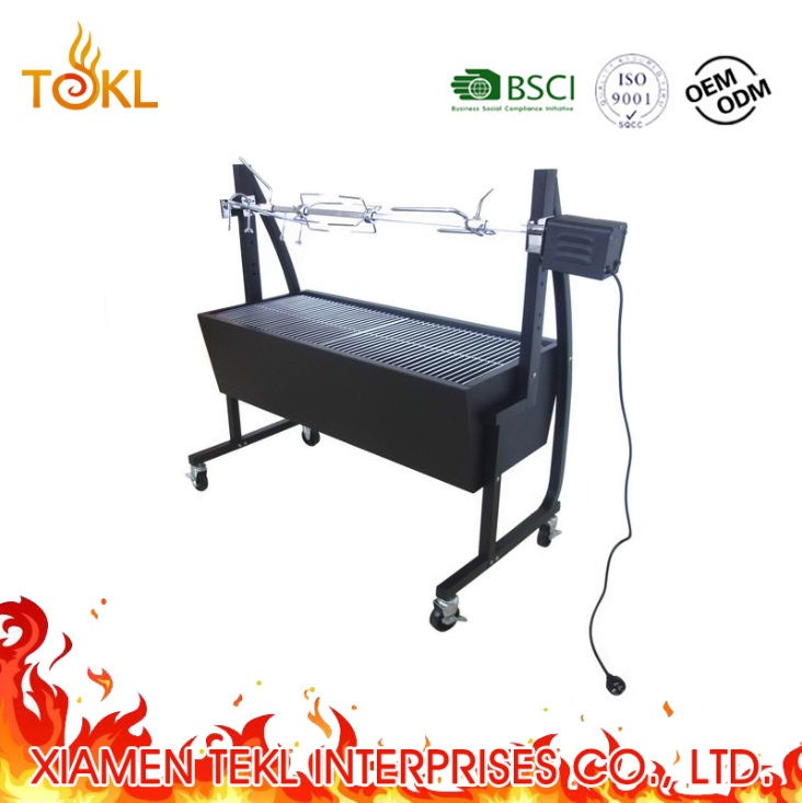 2018 suckling pig roaster bbq grill outdoor charcoal rotating bbq <strong>motor</strong> electrical grill spit rotisserie