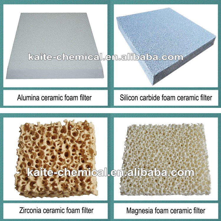 "10/20/30/40 PPI Silicon carbide foam ceramic filter & Sic molten metal reticulated foam filter 7"", 9"", 12"", 15"", 17"", 20"", 23"""