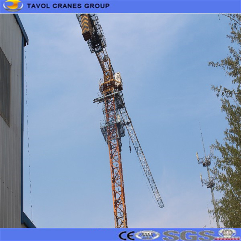 Model 6010 8Ton Topless Tower Crane Building Crane