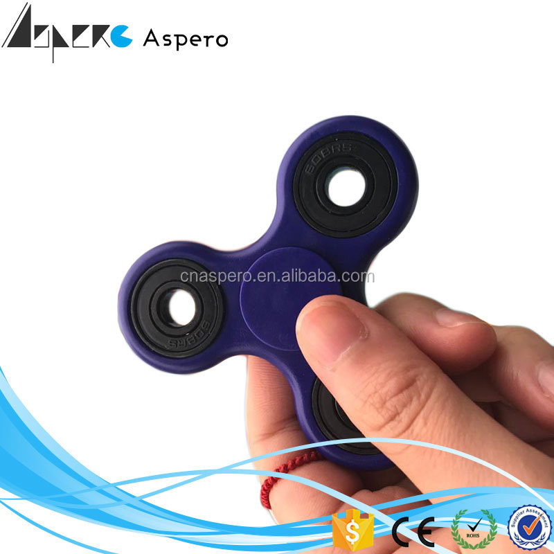 Wheel Ceramic Spinner Tri Spinner Bearing Toy 2017 Christmas gifts Anti Stress Tri Hand Fidget Spinner