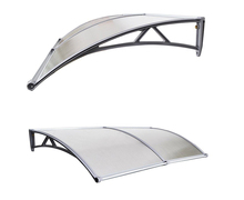 60/80/100 Plastic Door Canopy Awning French Door Awning