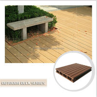 Composite wood decking fireproof outdoor WPC ,solid waterproof wpc decking, cheaper wpc tile