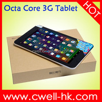 8 inch Octa Core 3g tablet pc Cube Talk 8X 1GB RAM 8GB ROM Android 4.4 Single SIM Card WIFI GPS Dual Camera Good Price