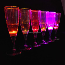 Drinking glass with led light