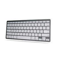 2016 less than 4usd shenzhen ultrathin bluetooth mini computer keyboards for tablet Support 3 system