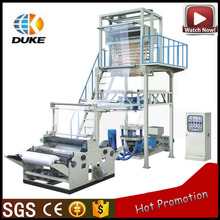 HDPE LDPE LLDPE Plastic Film extruder To T-shirt Bag Making