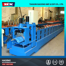 Hydraulic roof tile ridge cap roll forming machine for sale