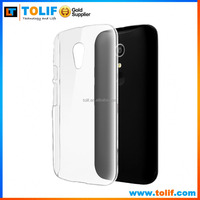 Factory price TPU phone case for MOTO G,ultra-thin transparent clear case