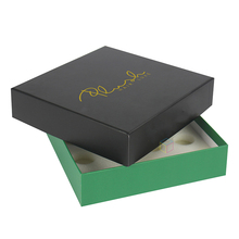 recyclable fancy sweet packpaper baklava boxes