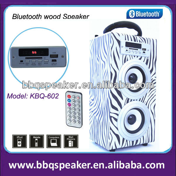 2014 new promotional products novelty items mini wooden bluetooth mp3 speaker
