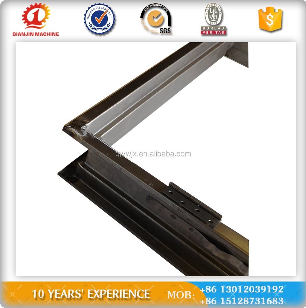 Steel fireproof door frame cold roll forming machine