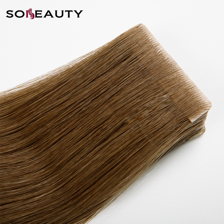 Free Sample Curly Virgin Human Tape Hair Extensions