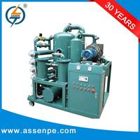 Open frame type transformer oil regeneration plant