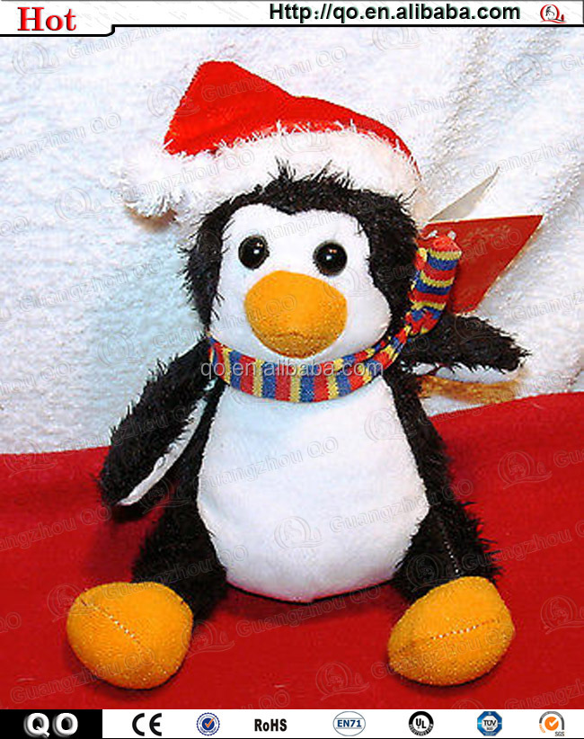 Best selling vivid lovely penguin toy for christmas