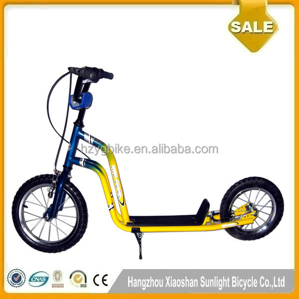 14/12 Inch Unique Style High Quality Cheap Children Scooters with Air Tires