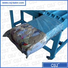 Self-owning weight device horizontal constant-weight second hand clothes baler for sale
