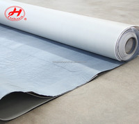 easy apply PVC waterproofing self adhesive bitumen membrane for construction and roof from weifang