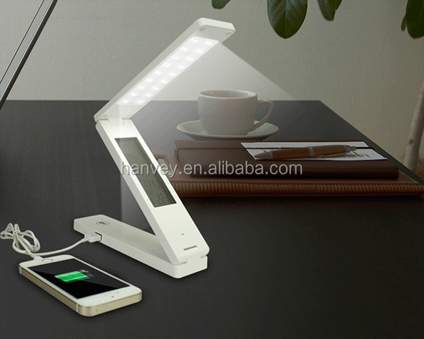 Portable folding USB rechargeable solar shop modern a LED desk light/table light/desk lamp, dimmable solar LED table lamp