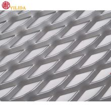 Spray Paint expanded metal mesh for decoration