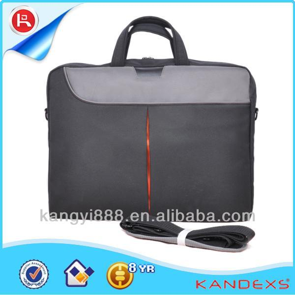 Hot Selling Modern laptop bag making materials leather laptop trolley bags