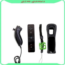 Bluetooth Game Controller 2 in 1 Motion Plus for Wii Controller for Wii Remote Controller