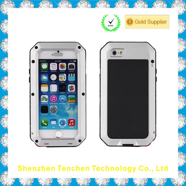 Classical good zinc alloy shockproof waterproof dropproof for iphone 5s case
