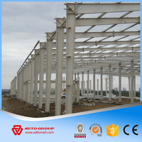 ADTO Professional Design Automatic Commercial Prefabricated Light Chicken House For Sale