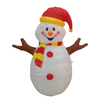Similar to Gemmy Inflatables decorated front porch Inflatable Christmas snowman Yard Decorations