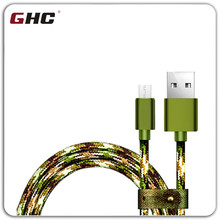 Camouflage usb cable data Kabel with HQTech Cable de Datos de USB Cellular Line USB Cable on Home