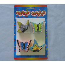 Cartoon fancy birthday decoration butterfly shape candle for kids