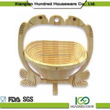 Wholesale Best Sell wooden fruit basket